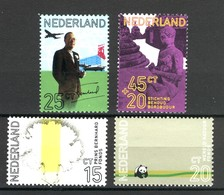 Nederland Pay Bas Olanda Netherlands 1971,  Birthday Of Prince Bernhard Dianthus Nelke Anjer Panda **, MNH - Periode 1949-1980 (Juliana)