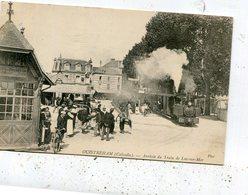 OUISTREHAM Arrivee Du Train - Ouistreham