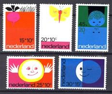 Nederland Pay Bas Olanda Netherlands 1971, Kinderzegels Child Welfare **, MNH - Periode 1949-1980 (Juliana)