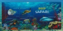 Australia 2018 Reef Safari 3D Lenticular Minisheet MNH - Mint Stamps