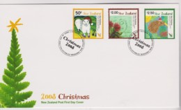 New Zealand 2008 Christmas FDC - FDC