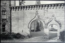 CPA 29 NEVEZ - Château Du Henan- L'entrée - ND 91 - Réf. I 92 - Névez