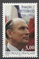 """FR YT 3042 """" F. Mitterrand """" 1997 Neuf** - France"""
