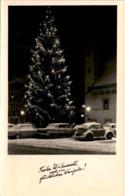 Leoben, Hauptplatz - Frohe Weihnacht Und Ein Glückliches Neujahr! - VW Käfer - Leoben