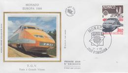 Enveloppe  FDC  1er  Jour   MONACO    EUROPA    1988 - Europa-CEPT