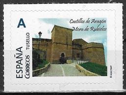 ESPAÑA. TUSELLO. CASTILLO MORA DE RUBIELOS (TERUEL) - 1931-Hoy: 2ª República - ... Juan Carlos I