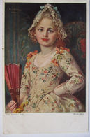 Künstlerkarte Robert Völcker, Kind, Rokoko  - 1900-1949