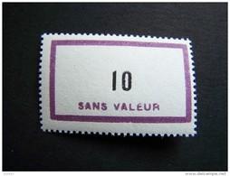 FICTIFS NEUF ** N°F156 SANS CHARNIERE (FICTIF F 156) - Fictifs