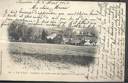Val D' Ajol L' Arrière ,vue Prise Vers Les Champs De Fougerolles CPA 1903 - France