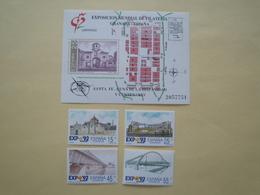 1991  Espagne  Yv 2711/4 + BF45 ** MNH Cote 4.15 € Michel 2976/9 + B39  Scott B173/6 + 2644 SG 3094/7 + 3102 - 1991-00 Nuovi