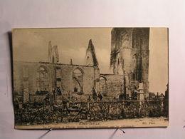 Ramscapelle - Le Cimetière Et L'Eglise Après Le Bombardement Par Les Allemands - Nieuwpoort