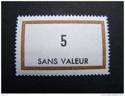 FICTIFS NEUF ** N°F169 SANS CHARNIERE (FICTIF F 169) - Phantomausgaben
