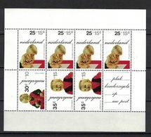 Nederland Pay Bas Olanda Netherlands 1972, Kinderzegels Child Welfare Prince**, MNH, S/S - Periode 1949-1980 (Juliana)