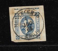 MONTECCHIO-EMILIA - 4.8.1862 - P.5. - 1861-78 Victor Emmanuel II
