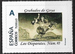 ESPAÑA. TUSELLO. GRABADOS DE GOYA. DISPARATES NÚMERO 10 - 1931-Hoy: 2ª República - ... Juan Carlos I