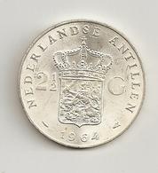 Netherlands Antilles 1964 2.50 Guilder Beautiful Condition - Netherland Antilles