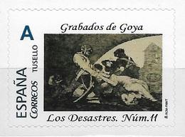 ESPAÑA. TUSELLO. GRABADOS DE GOYA. LOS DESASTRES DE LA GUERRA NÚMERO 11 - 1931-Hoy: 2ª República - ... Juan Carlos I