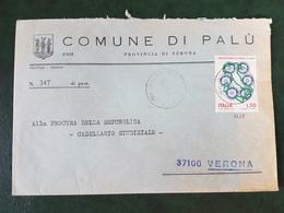(31811) STORIA POSTALE ITALIA 1974 - 6. 1946-.. Repubblica