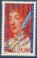 """FR YT 3000A """" Europa, Mme De Sévigné """" 1996 Neuf** - France"""