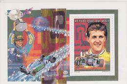 MALI  BLOCS FEUILLETS    M.SCHUMACHER CHAMPION DU MONDE 1995 - Automobilismo