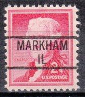 USA Precancel Vorausentwertung Preo, Locals Illinois, Markham 839 - Vereinigte Staaten