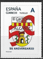 ESPAÑA. TUSELLO. 50 ANIVERSARIO EL CACHIRULO. ALCAÑIZ (TERUEL) - 1931-Hoy: 2ª República - ... Juan Carlos I
