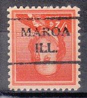 USA Precancel Vorausentwertung Preo, Locals Illinois, Maroa 716 - Vereinigte Staaten