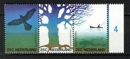 Nederland Pay Bas Olanda Netherlands 1974, Nature Bird Tree **, MNH - Periode 1949-1980 (Juliana)