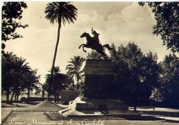 Roma - Monumento Ad Anita Garibaldi - Formato Grande Viaggiata Mancante Di Affrancatura – E 12 - Roma