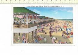50439 - VIEW ALONG THE BEACH POINT PLEASANT BEACH - NY - New York