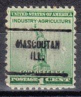 USA Precancel Vorausentwertung Preo, Locals Illinois, Mascoutah 704 - Etats-Unis