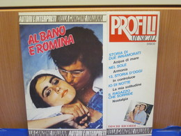 LP402- AL BANO E ROMINA - PROFILI MUSICALI - Hit-Compilations