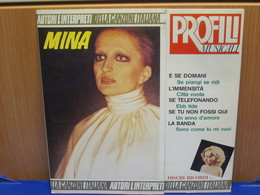 LP403- MINA - PROFILI MUSICALI - Hit-Compilations