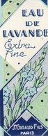 Etiquette Parfum Grasse Giraud Eau De Lavande Extra Fine (grand Modele) - Etiquettes