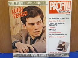 LP406- LUIGI TENCO - PROFILI MUSICALI - Hit-Compilations