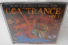 "3 CDs ""Goa Trance"" Vol. 1, The Best Of Goa-Trance & Psychedelic Techno - Dance, Techno & House"