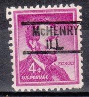 USA Precancel Vorausentwertung Preo, Locals Illinois, McHenry 819 - Vereinigte Staaten