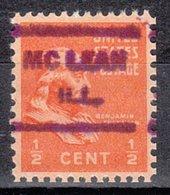USA Precancel Vorausentwertung Preo, Locals Illinois, McLean 621 - Vereinigte Staaten