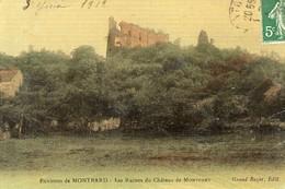MONTBARD, Les Ruines Du Chateau De Montfort - Montbard