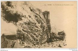 51 REIMS. La Cathédrale 1924 - Reims