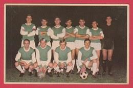 Football - Equipe R.A. La Louvière  - Saison 1970-71 - Delchambre ,Schena, Silvagni ... Etc ( Voir Verso ) - Voetbal