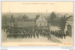 51 REIMS. Champagne Pommery. Caves Arrivée Des Ouvriers - Reims