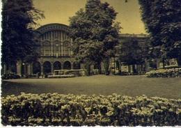 Torino - Giardini In Fiore Di Piazza Carlo Felice - Formato Grande Viaggiata Mancante Di Affrancatura – E 12 - Italie