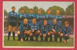 Football - Equipe F.C. Bruges  - Saison 1970-71 - Rensenbrink ,Lambert, Van Den Daele ... Etc ( Voir Verso ) - Calcio