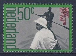 Nederland Netherlands Pays Bas 1975 Mi 1054 YT 1025 SG 1215 ** Albert Schweitzer, Medical Missionary / Missionsarzt - Geneeskunde