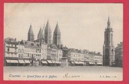 Tournai - Grand'Place Et Beffroi - 190? ( Voir Verso ) - Doornik