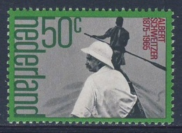 Nederland Netherlands Pays Bas 1975 Mi 1054 YT 1025 SG 1215 ** Albert Schweitzer, Medical Missionary / Theologe - Boten