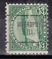 USA Precancel Vorausentwertung Preo, Locals Illinois, Metropolis 699-704 - Vereinigte Staaten