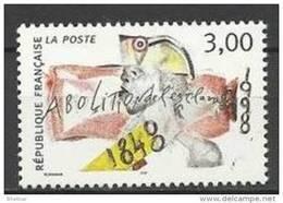 """FR YT 3148 """" Abolition De L'esclavage """" 1998 Neuf** - France"""