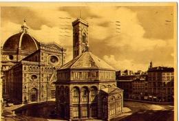 Firenze - Battistero - Formato Grande Viaggiata – E 12 - Firenze
